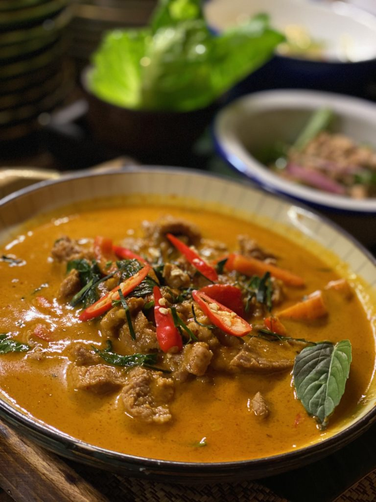 Panang Curry (Thai style)